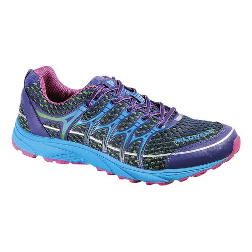 Womens Merrell Mix Master Move Glide Trail Running Shoe - Blue Depths 6.5