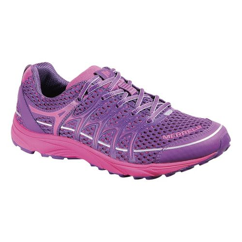 Womens Merrell Mix Master Move Glide Trail Running Shoe - Purple 5