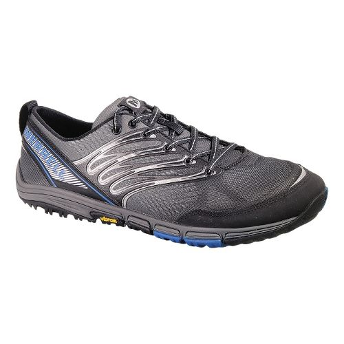 Mens Merrell Ascend Glove Trail Running Shoe - Black 12
