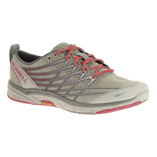 Womens Merrell Bare Access Arc 3 Running Shoe - Ice/Paradise Pink 7.5