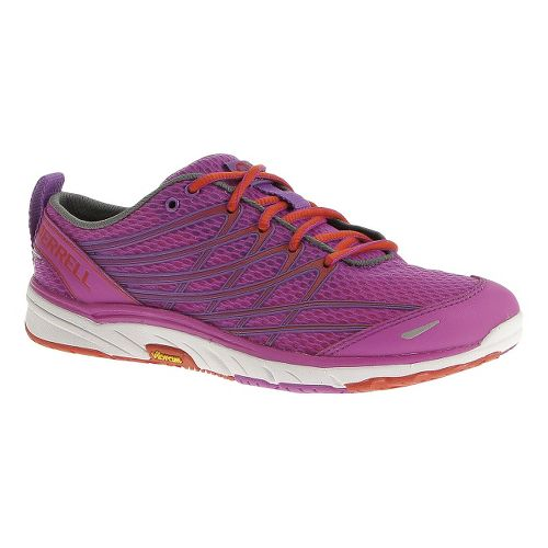 Womens Merrell Bare Access Arc 3 Running Shoe - Purple Passion/Grenadine 5