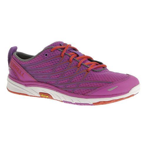 Womens Merrell Bare Access Arc 3 Running Shoe - Purple Passion/Grenadine 6