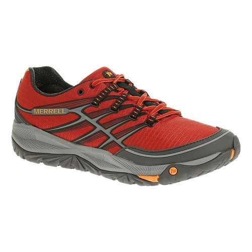 Mens Merrell AllOut Rush Trail Running Shoe - Molten Lava 15
