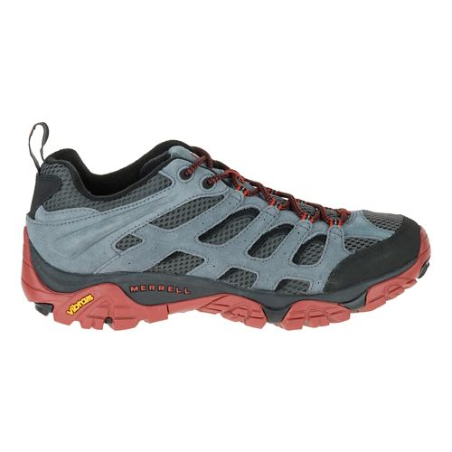 Mens Merrell Moab Ventilator Hiking Shoe - Castle Rock/Black 11.5