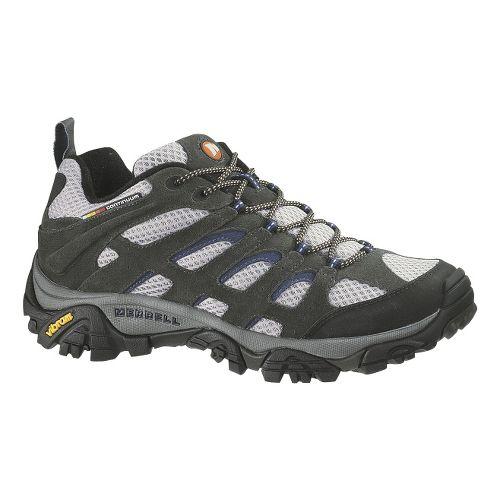 Mens Merrell Moab Ventilator Hiking Shoe - Beluga/Denim Blue 11.5