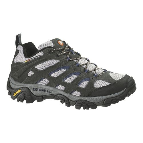 Mens Merrell Moab Ventilator Hiking Shoe - Beluga/Denim Blue 14