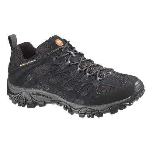Mens Merrell Moab Ventilator Hiking Shoe - Black Night 12