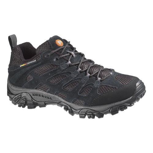 Mens Merrell Moab Ventilator Hiking Shoe - Black Night 15