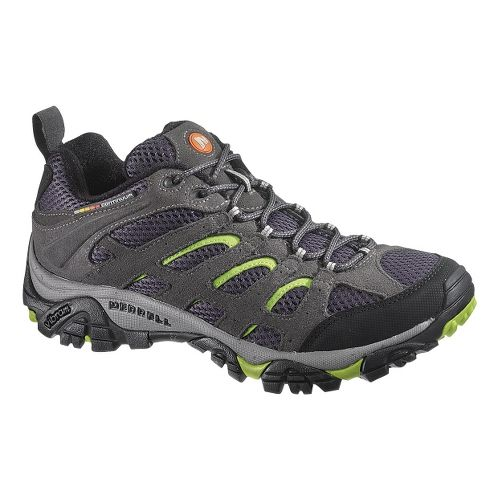 Mens Merrell Moab Ventilator Hiking Shoe - Granite/Kryptonite 7.5