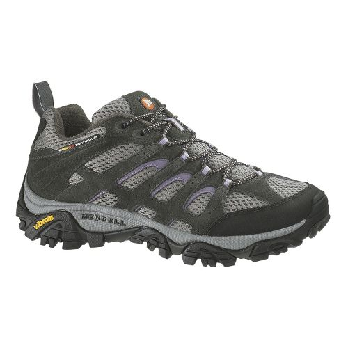 Womens Merrell Moab Ventilator Hiking Shoe - Beluga/Lilac 10.5