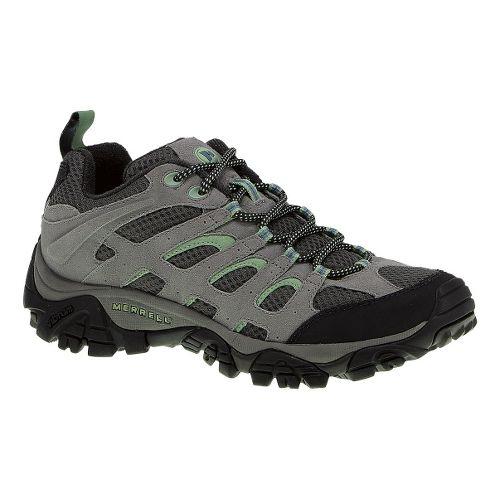 Womens Merrell Moab Ventilator Hiking Shoe - Drizzle/Mint 8.5