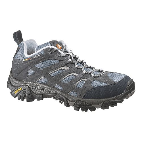 Womens Merrell Moab Ventilator Hiking Shoe - Smoke 10