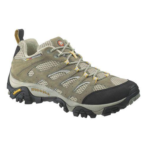 Womens Merrell Moab Ventilator Hiking Shoe - Taupe 10