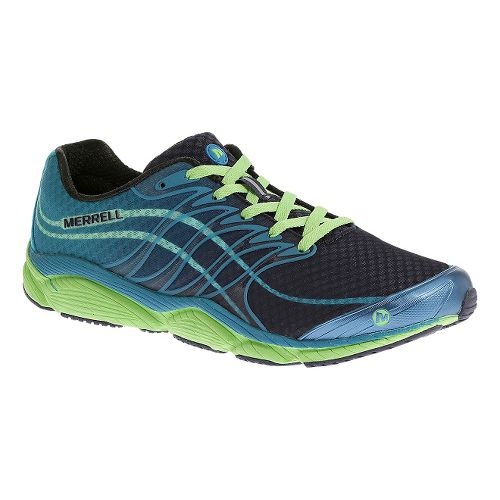 Mens Merrell AllOut Flash Running Shoe - Racer Blue 12