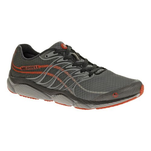 Mens Merrell AllOut Flash Running Shoe - Castlerock/Red 11.5