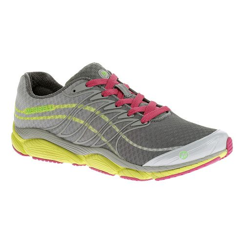 Womens Merrell AllOut Flash Running Shoe - Light Grey 5.5