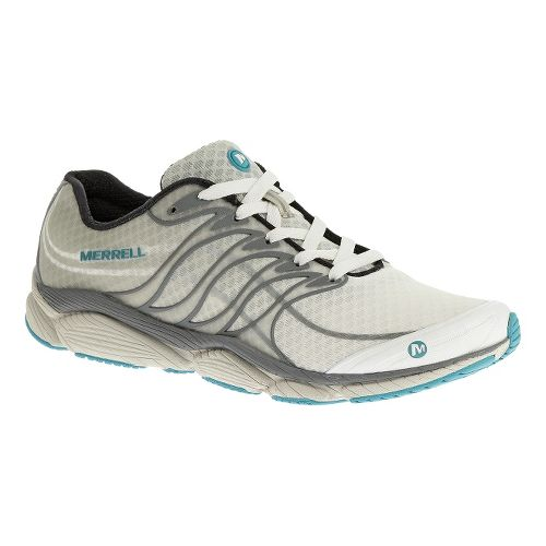 Womens Merrell AllOut Flash Running Shoe - White 6