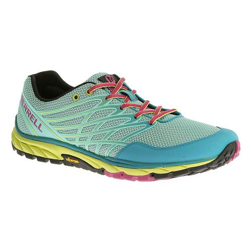 Womens Merrell Bare Access Trail Trail Running Shoe - Aqua 9