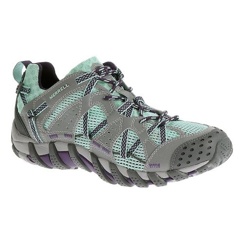 Womens Merrell WaterPro Maipo Trail Running Shoe - Aqua 8