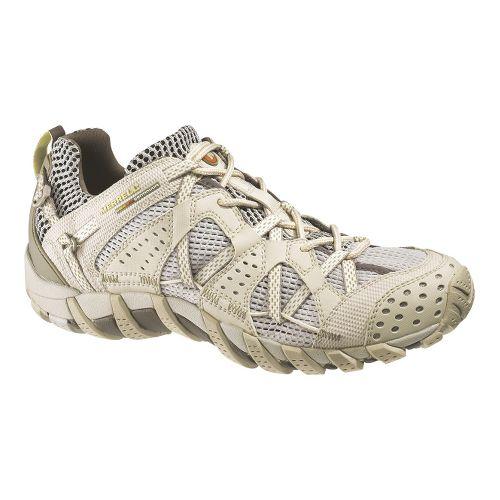 Womens Merrell WaterPro Maipo Trail Running Shoe - Champagne 5