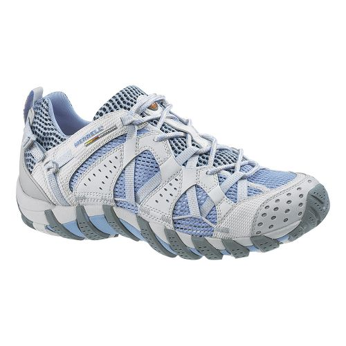 Womens Merrell WaterPro Maipo Trail Running Shoe - Light Blue 8.5