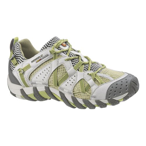 Womens Merrell WaterPro Maipo Trail Running Shoe - Lime 7