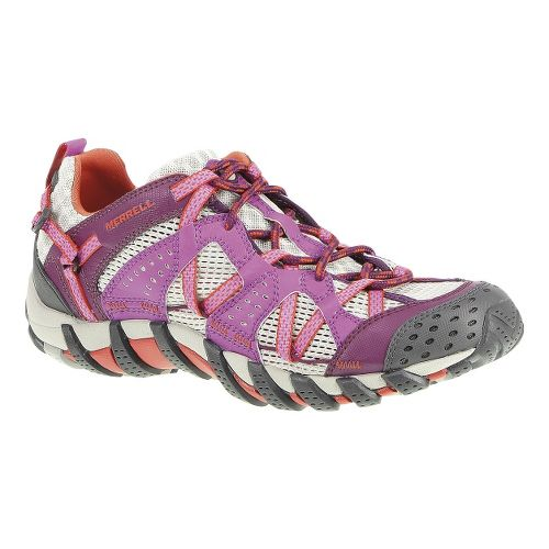 Womens Merrell WaterPro Maipo Trail Running Shoe - Purple/Dark Purple 7