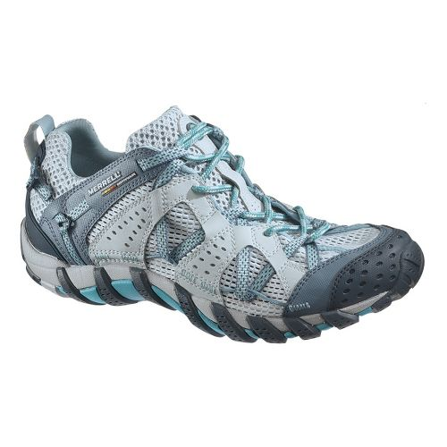 Womens Merrell WaterPro Maipo Trail Running Shoe - Teal 6.5