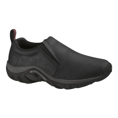 Mens Merrell Jungle Moc Nubuck Casual Shoe - Black 13