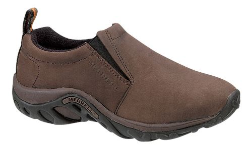 Mens Merrell Jungle Moc Nubuck Casual Shoe - Brown 11