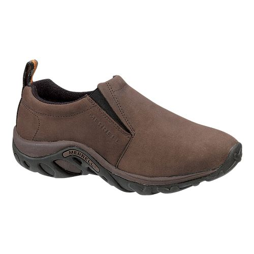 Mens Merrell Jungle Moc Nubuck Casual Shoe - Brown 10