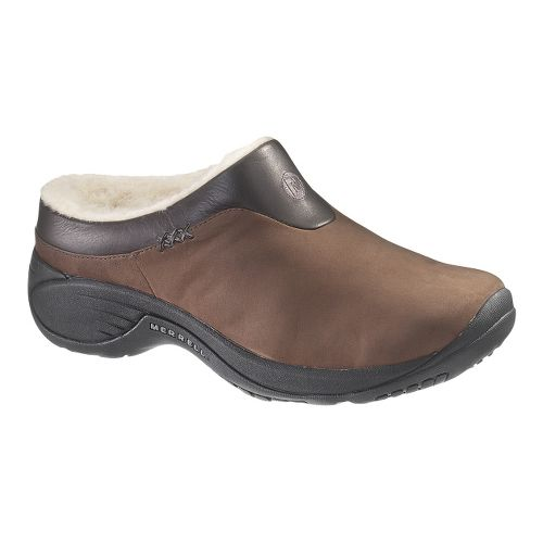 Womens Merrell Encore Ice Casual Shoe - Brown Nubuck 5