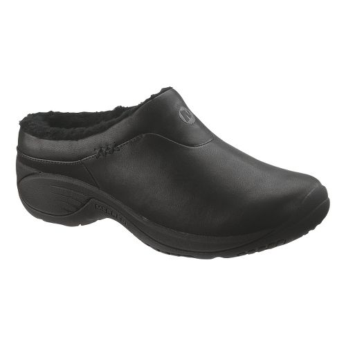 Womens Merrell Encore Ice Casual Shoe - Smooth Black 10.5