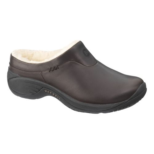 Womens Merrell Encore Ice Casual Shoe - Smooth Bug Brown 6