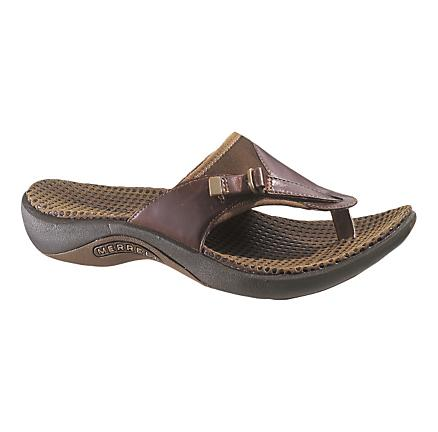 Womens Merrell Gardena Thong Sandals Shoe
