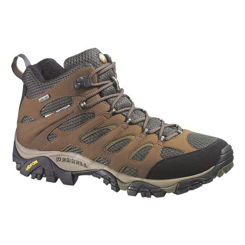 Mens Merrell Moab Mid GORE-TEX XCR Hiking Shoe - Dark Earth 12