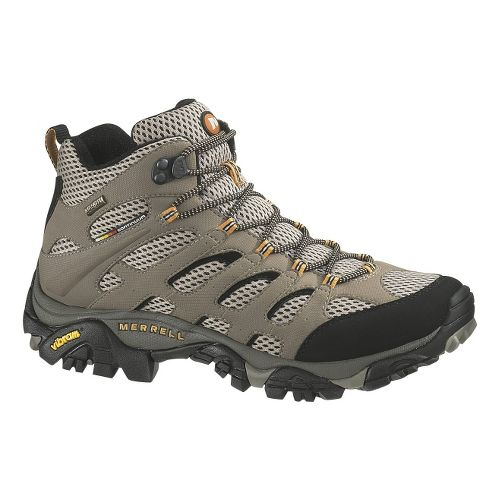 Mens Merrell Moab Mid GORE-TEX XCR Hiking Shoe - Dark Tan 8.5