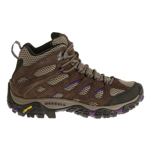 Womens Merrell Moab Mid Ventilator Hiking Shoe - Bracken 7.5