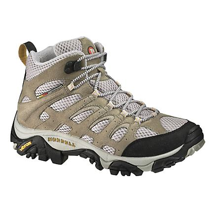 Womens Merrell Moab Mid Ventilator Hiking Shoe