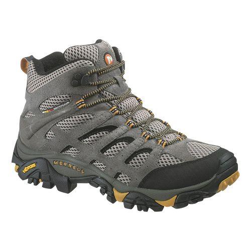 Mens Merrell Moab Ventilator Mid Hiking Shoe - Walnut 10