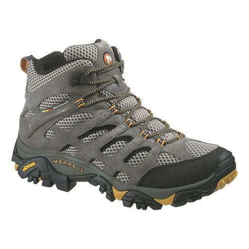 Mens Merrell Moab Ventilator Mid Hiking Shoe - Walnut 16