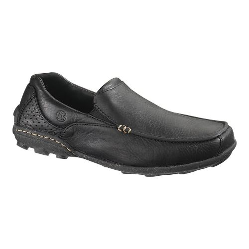 Mens Merrell Rally Moc Casual Shoe - Black 8