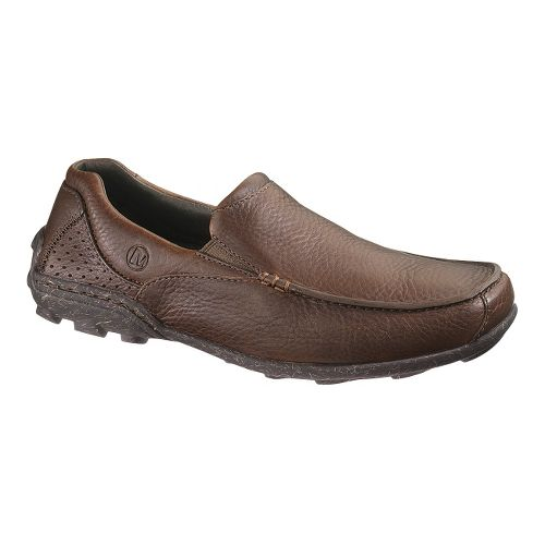 Mens Merrell Rally Moc Casual Shoe - Dark Earth 9