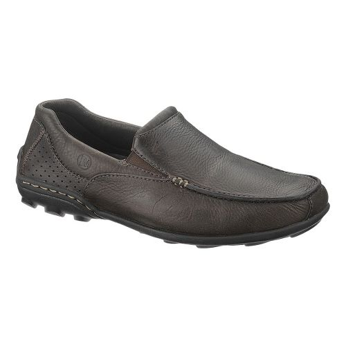 Mens Merrell Rally Moc Casual Shoe - Espresso 15