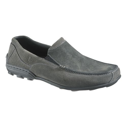 Mens Merrell Rally Moc Casual Shoe - Granite 10.5