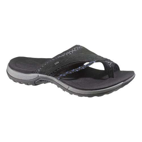 Womens Merrell Hollyleaf Sandals Shoe - Black 10