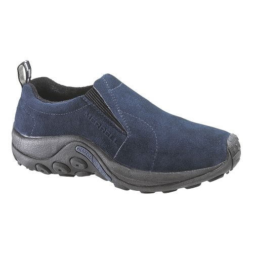 Womens Merrell Jungle Moc Casual Shoe - Blue 10