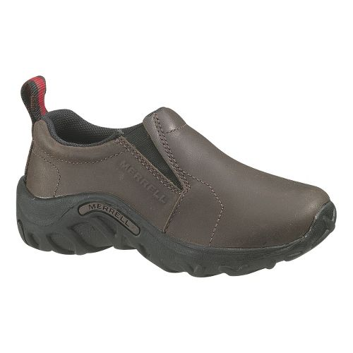 Kids Merrell Jungle Moc Leather Casual Shoe - Bug Brown 11