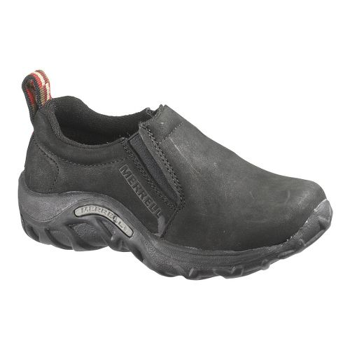 Kids Merrell Jungle Moc Nubuck Casual Shoe - Black 7