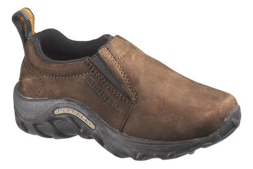 Kids Merrell Jungle Moc Nubuck Casual Shoe - Brown 6Y
